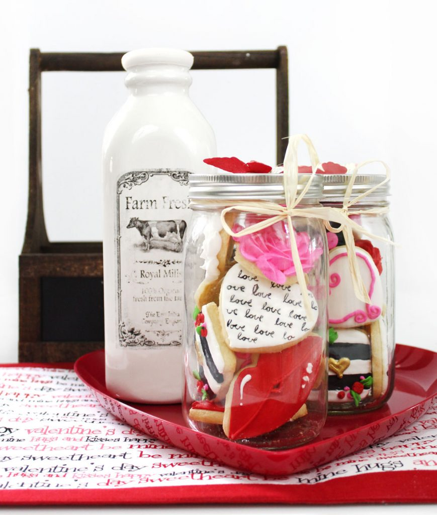 Sugar Cookies for Valentine
