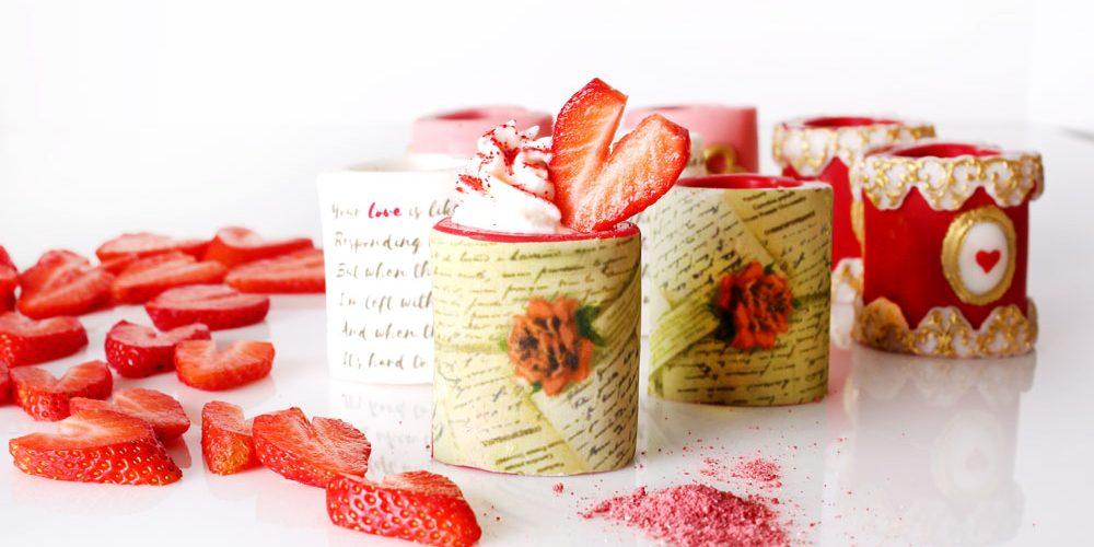 Strawberry and Chocolate Sweet Valentine Shots