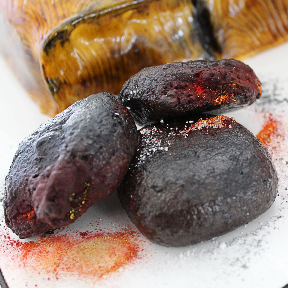 oreo coal treats